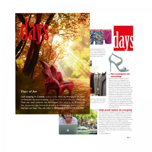 Days, 2014 Publicatie: oktober 2014