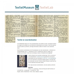Textielmuseum, 2014 Publicatie: september 2014